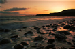 Kimmeridge Bay, Dorset, Jurassic Coast, Sunset