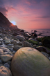 Osmington Mills, Dorset, Jurassic Coast, Sunrise